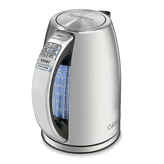 Forget coffee makers! The tea appreciator in your life will love this cordless electric kettle ($100, originally $125). It has different temperature settings to suit different kinds of teas, and it will keep the water hot for up to 30 minutes. — Becky Kirsch, entertainment director