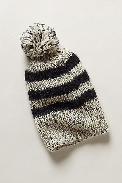 You can never have too many Winter accessories, and I love the look of this Queensland rugby beanie ($68). It has a bit of a tomboy vibe, but the pom-pom adds a playful touch. — Becky Kirsch, entertainment director