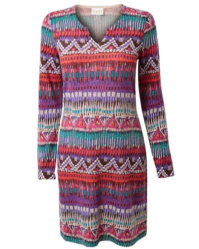 Amla Print Tunic Dress | East