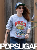 Kristen Stewart Flips Out in LA — See the Pics!