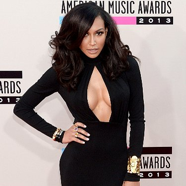 Naya Rivera Dress at American Music Awards 2013