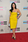 Sarah Silverman wore a sexy yellow number.