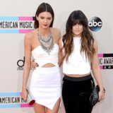 Kendall and Kylie Jenner Dress at American Music Awards 2013