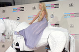 "Lady Gaga arrived on a ""horse."""