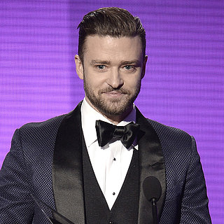 Justin Timberlake Bored at the American Music Awards