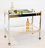 Give the gift of glamour with the Raymond Bar Cart in nickel from Plantation Design ($1,025). I feel like I'm in The Great Gatsby every time I see this piece in my living room, and I never tire of making cocktails for friends on the expansive mirrored shelf.  — Nick Maslow, editorial assistant