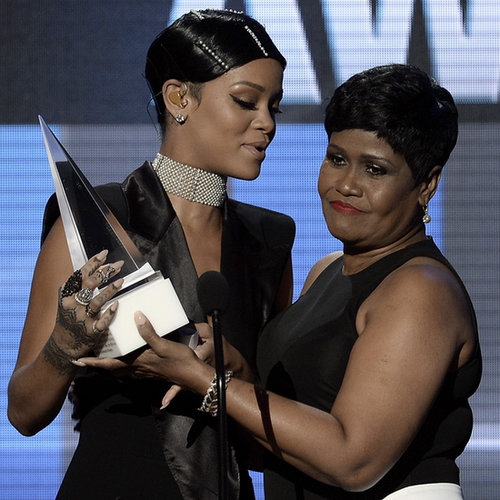 Rihanna's Mom at the American Music Awards