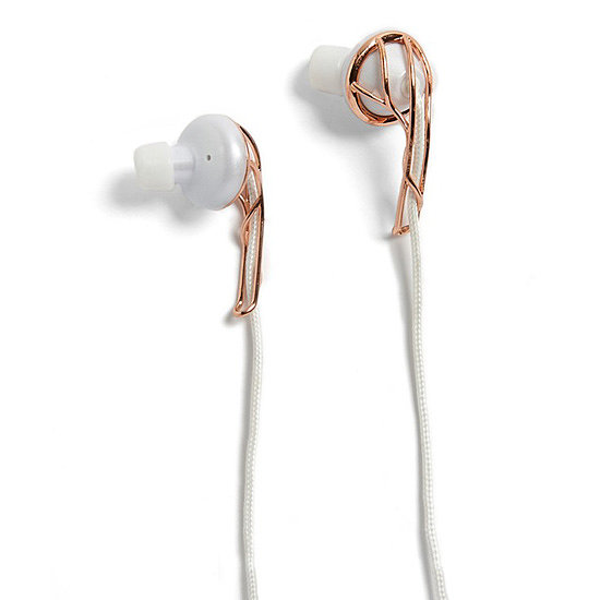 "Frends Ella B Earbuds ($79) ""For the music junkie in your life, sleek headphones make a great gift. I love the rose gold accent on these Frends earbuds. You should totally make a statement even with your electronic accessories!"""