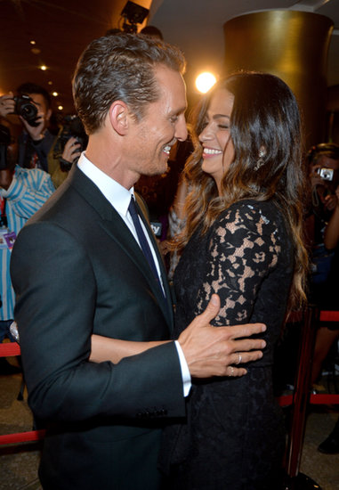 In September, Matthew McConaughey had a moment with Camila Alves at a premiere for Dallas Buyers Club at the Toronto International Film Festival.
