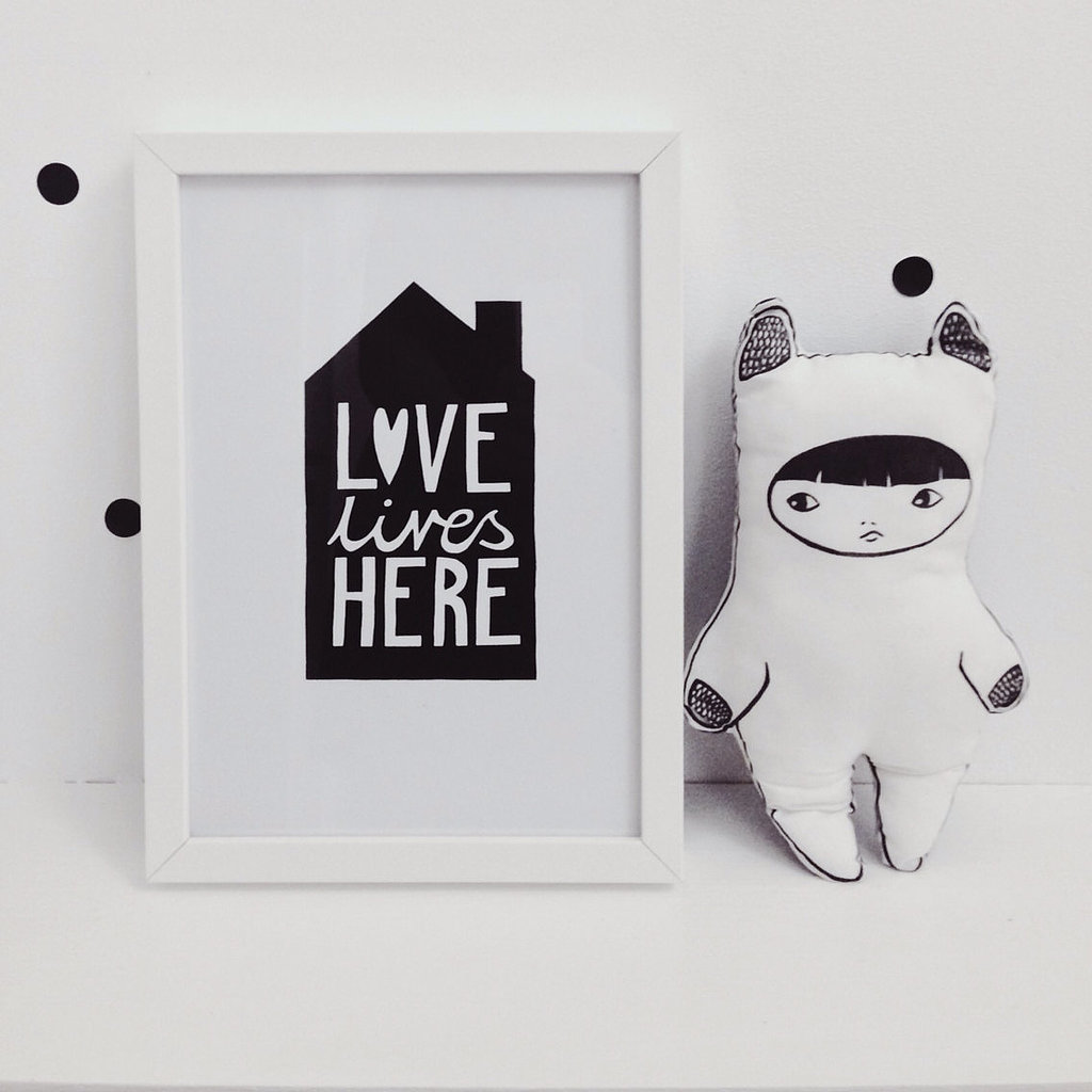 Love lives here ($14)