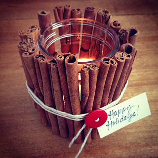 Cinnamon-Stick Candle Votive