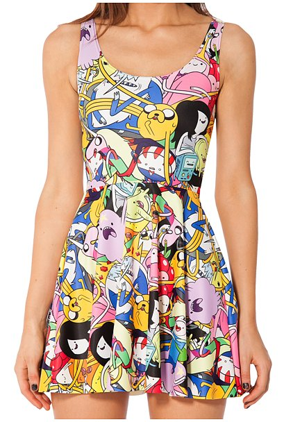 Bro Ball Skater Dress