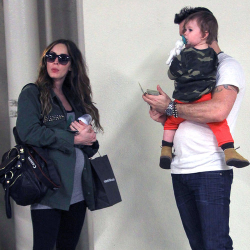 Megan Fox Baby Bump Pictures in LA