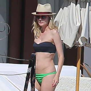 Diane Kruger in a Bikini in Mexico