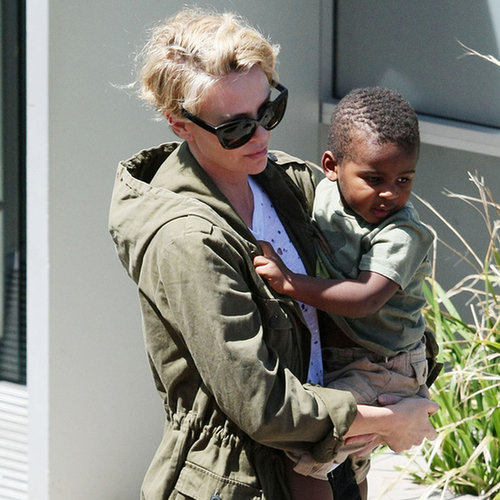 Charlize Theron With Son Jackson in Sydney, Australia