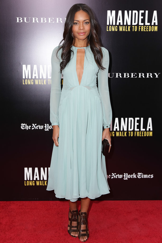 Naomie Harris at a screening of Mandela: Long Walk to Freedom.