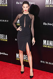 Sara Sampaio at a screening of Mandela: Long Walk to Freedom.