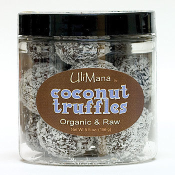 Organic Raw Coconut Chocolate Truffles