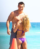 In April, Hayden Panettiere cuddled with Wladimir Klitschko when they hit the beach in Miami.