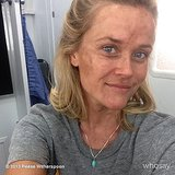 Reese Witherspoon got down and dirty on the set of Wild. Source: reesewitherspoon on WhoSay