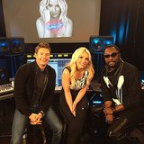 Britney Spears hung out with a couple famous friends. Source: Instagram user  britneyspears
