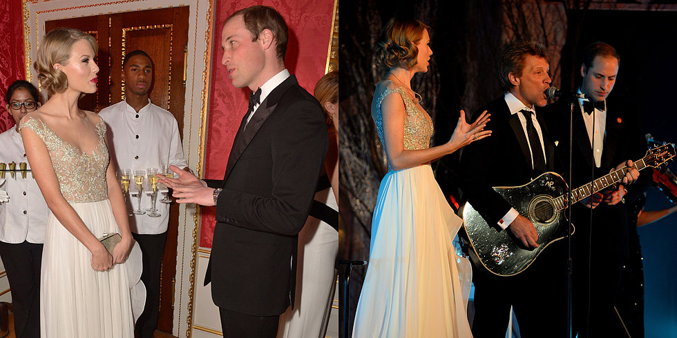Royal Report: William and Taylor Bring Down the House—Er, Palace