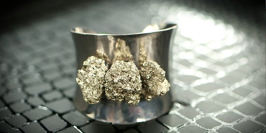 DIY: Make Your Own Pyrite Jewelry Inspired by Chanel