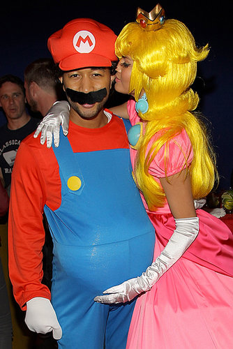 Mario and Princess Peach