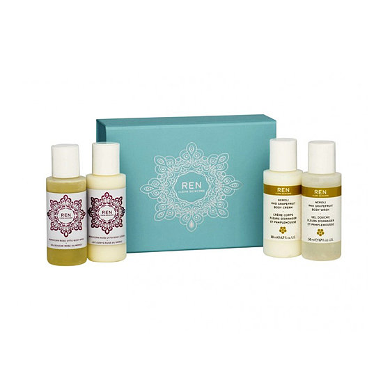Two scented body washes and creams make up this Ren Skincare Mini Gift Set ($23), which is aces for your best gal pals.