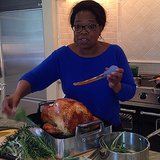 Oprah worked her magic on a turkey. Source: Instagram user oprah