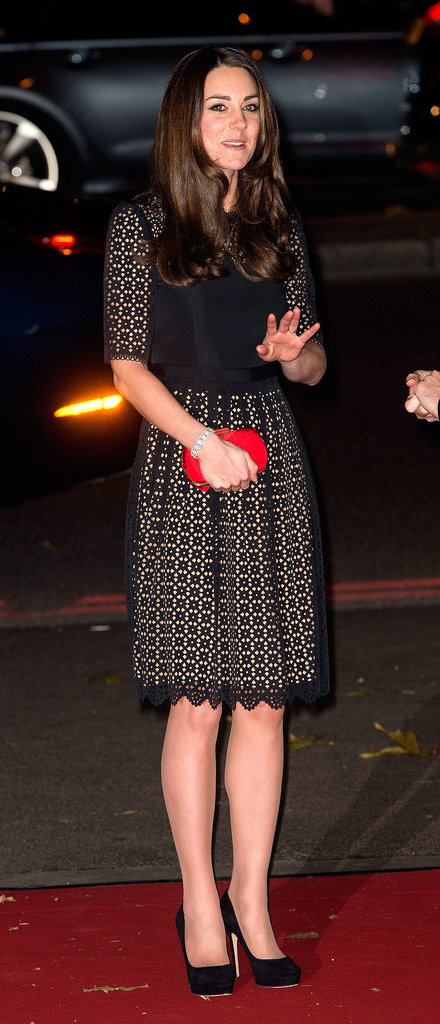 Kate Is Back in Action After Missing William's Big Night