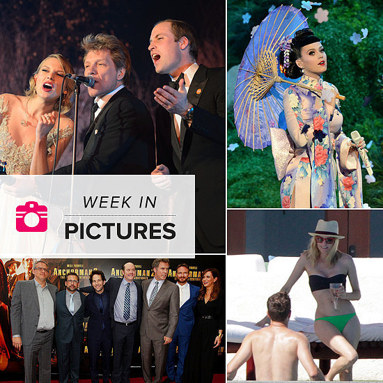 The Week in Pictures: Taylor Sings With William, Katy's Geisha Get-Up & More!