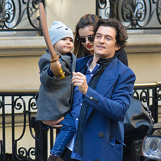 Miranda Kerr and Orlando Bloom With Flynn in NYC