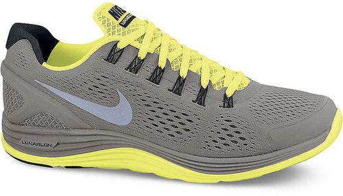 Nike Men's Lunarglide +4 Shield Sneakers from Finish Line