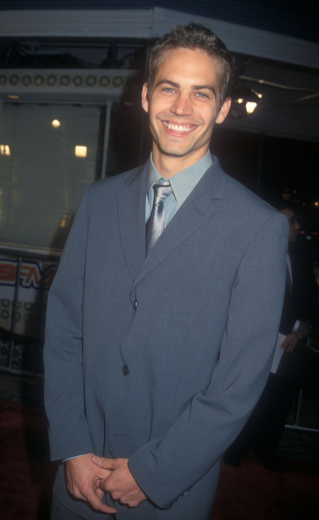 Paul Walker flashed his gorgeous grin at the premiere of The Skulls in LA back in March 2000.