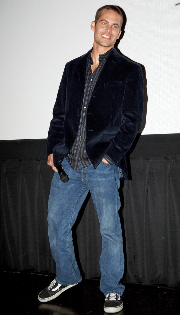 Paul Walker promoted Running Scared at San Francisco's WonderCon in February 2006.