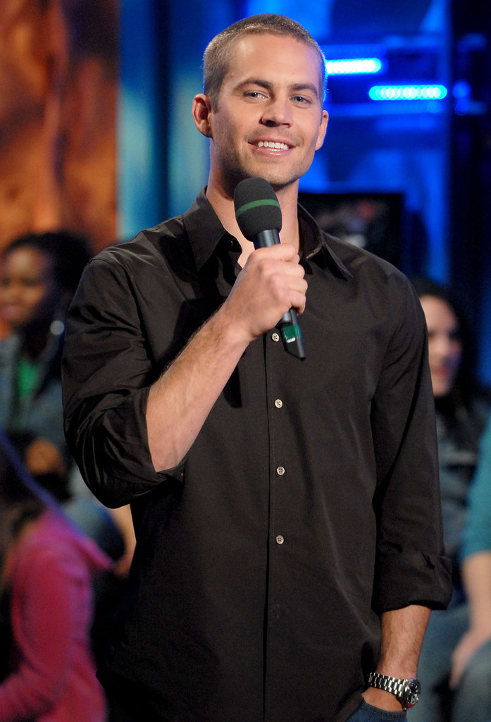 Paul Walker made a appearance on Fuse's Daily Download show in NYC in February 2006.