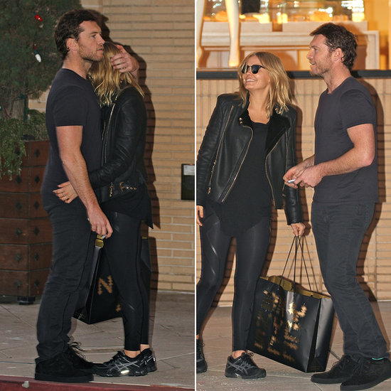 Lara Bingle and Sam Worthington Take Black Friday Shopping to the Next Level