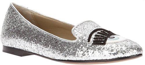 Chiara Ferragni glitter slipper