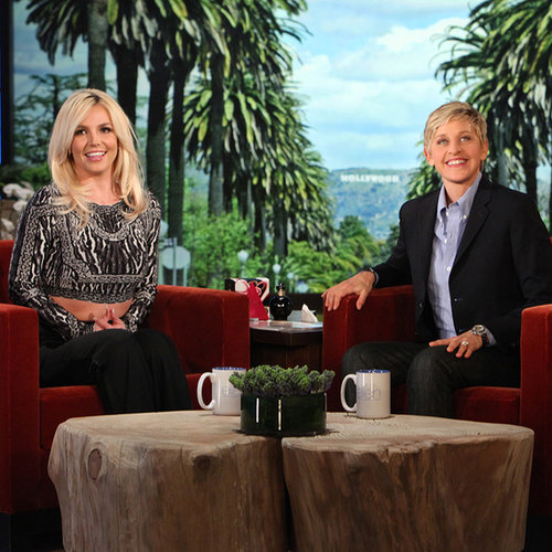 Britney Spears Talks Boyfriend David on Ellen DeGeneres Show