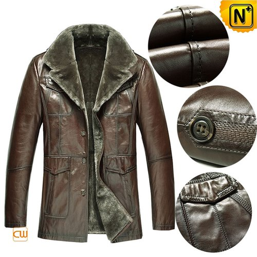 Mens Lambskin Shearling Coat CW868813