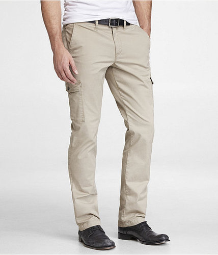 Slim Stretch Cotton Cargo Pant