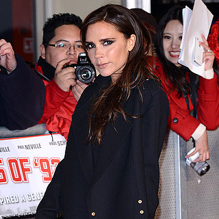 Victoria Beckham The Class of '92 Premiere Black Dress