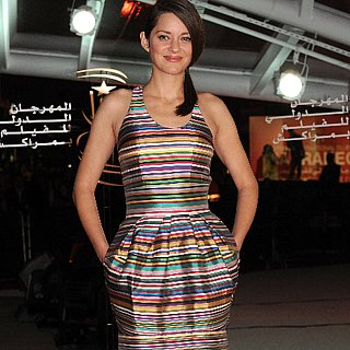 Marion Cotillard Wearing Dior in Marrakech
