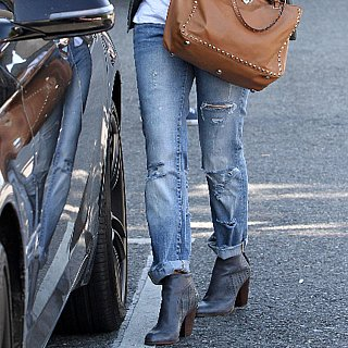 Ways to wear boyfriend jeans