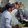 Pictures of Celebrities Kissing and PDA in 2013