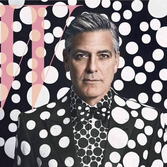 George Clooney W Art Issue December 2013/January 2014