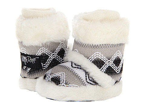 M&F Western Knit Print Bootie Slippers