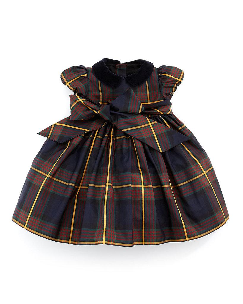 Ralph Lauren Silk Tartan Plaid Dress