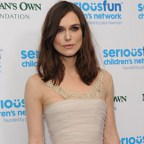 Keira Knightley Wears Wedding Dress Again